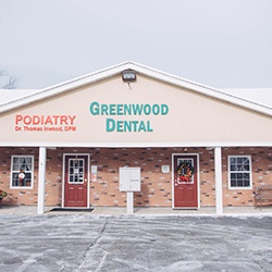 Outside view of Greenwood Dental